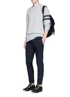 LanvinZip cuff cotton twill pants