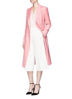 Temperley London'Opus' virgin wool double breasted long coat