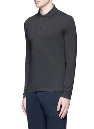Armani Collezioni-Slim fit polo shirt