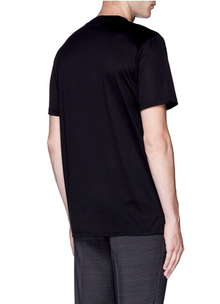 Back View - Click To Enlarge - Lanvin - Key icon embroidery patch T-shirt