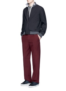Lanvin Virgin wool twill worker pants