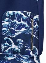 'The Cascade' tidal wave print active vest