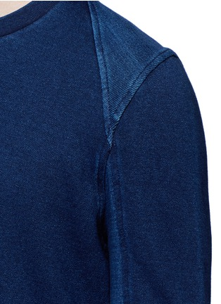 Detail View - Click To Enlarge - Denham - Top stitch harness sweatshirt