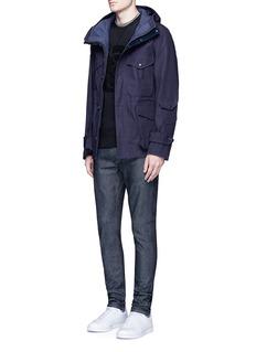 Denham'Bolt' raw Italian selvedge skinny jeans
