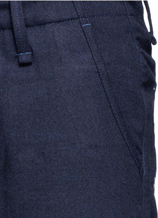 Detail View - Click To Enlarge - Denham - 'Munich' knee patch twill pants
