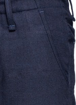 'Munich' knee patch twill pants