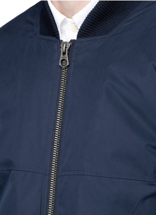 Detail View - Click To Enlarge - Denham - 'Airwing' bomber jacket