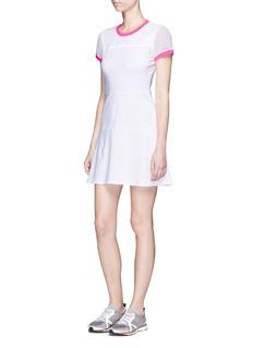 Monreal LondonMesh sleeve A-line tennis dress