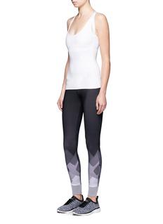Monreal London'Ballerina' tech fabric performance top