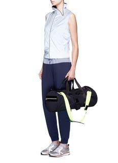 Monreal London'Cosy' colourblock elastic cuff jersey sweatpants