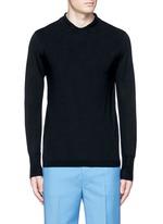 'Janeck' spread collar wool sweater