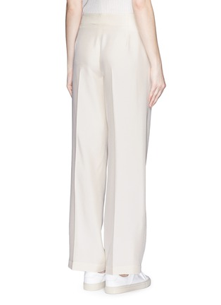Back View - Click To Enlarge - Helmut Lang - Silk carpenter pants