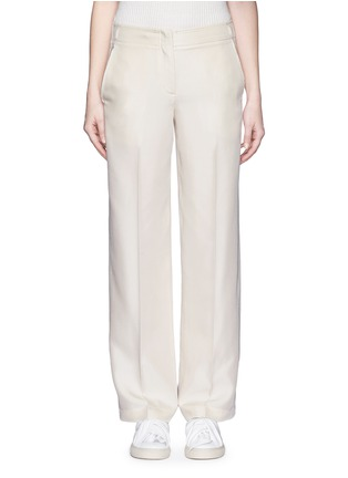 Main View - Click To Enlarge - Helmut Lang - Silk carpenter pants