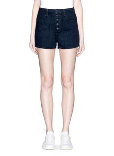 HELMUT LANGButton fly denim shorts
