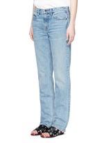 Light worn boyfriend jeans