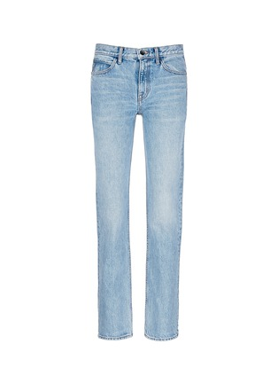 Main View - Click To Enlarge - Helmut Lang - Light worn boyfriend jeans