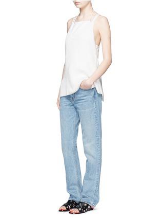 Figure View - Click To Enlarge - Helmut Lang - Light worn boyfriend jeans