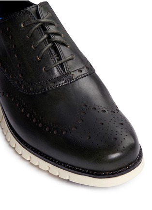 Detail View - Click To Enlarge - Cole Haan - 'ZeroGrand' wingtip brogue leather Oxfords