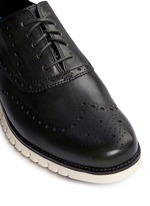 'ZeroGrand' wingtip brogue leather Oxfords