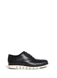 Cole Haan'ZeroGrand' wingtip brogue leather Oxfords