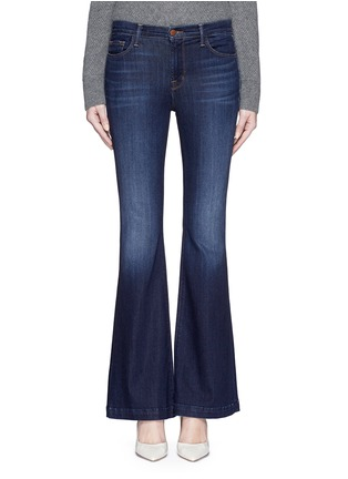Detail View - Click To Enlarge - J Brand - 'Maria Flare' stretch denim jeans