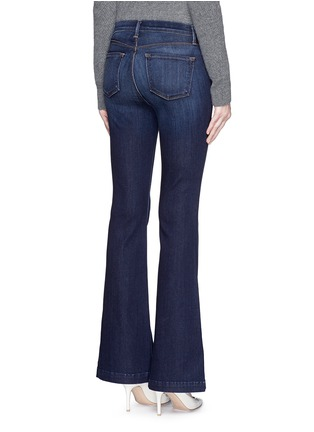 Back View - Click To Enlarge - J Brand - 'Maria Flare' stretch denim jeans