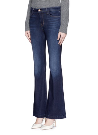 Front View - Click To Enlarge - J Brand - 'Maria Flare' stretch denim jeans