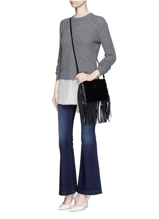 Figure View - Click To Enlarge - J Brand - 'Maria Flare' stretch denim jeans
