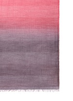 'Tea' ombré virgin wool blend scarf