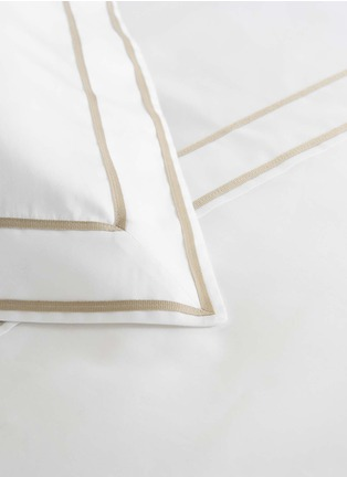 Detail View - Click To Enlarge - Frette - Analogy standard sham