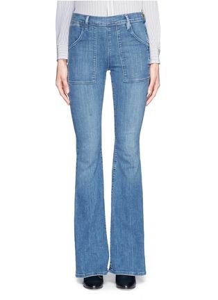 Frame Denim-'Le Flare de Francoise' high rise jeans
