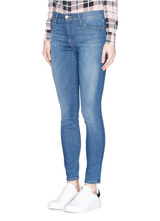 Front View - Click To Enlarge - Frame Denim - 'Le High' skinny jeans
