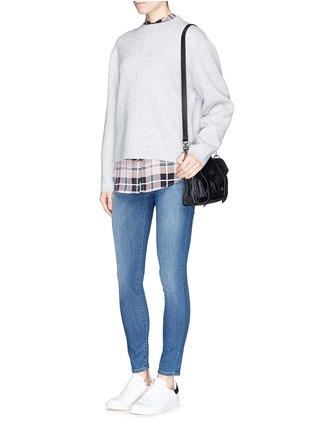 Figure View - Click To Enlarge - Frame Denim - 'Le High' skinny jeans