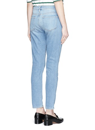 Back View - Click To Enlarge - Frame Denim - 'Le Garçon' boyfriend jeans