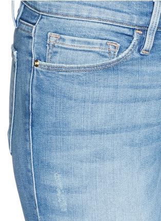 Detail View - Click To Enlarge - Frame Denim - 'Le Skinny De Jeanne' distressed skinny jeans