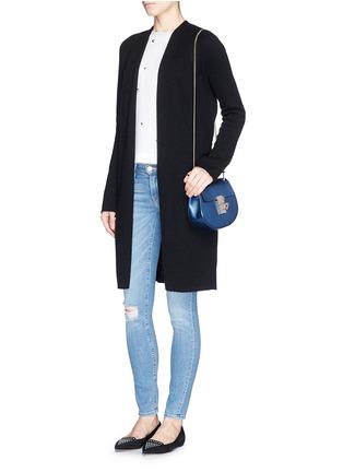 Figure View - Click To Enlarge - Frame Denim - 'Le Skinny De Jeanne' distressed skinny jeans
