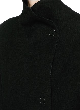 Detail View - Click To Enlarge - Acne Studios - 'Alby' double breasted boiled wool coat