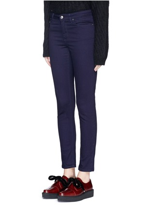 Front View - Click To Enlarge - Acne Studios - 'Skin 5' cotton stretch jeans