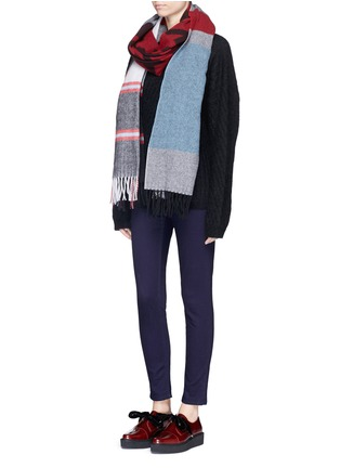 Figure View - Click To Enlarge - Acne Studios - 'Skin 5' cotton stretch jeans