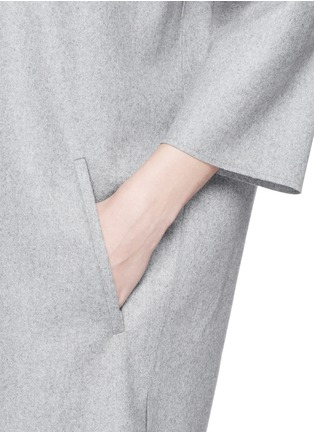 Detail View - Click To Enlarge - Acne Studios - 'Bennet' felted wool blend dress