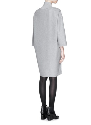 Back View - Click To Enlarge - Acne Studios - 'Bennet' felted wool blend dress