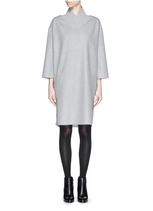Main View - Click To Enlarge - Acne Studios - 'Bennet' felted wool blend dress