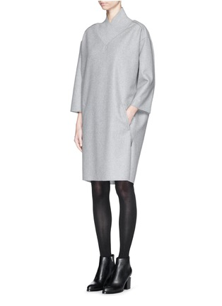 Figure View - Click To Enlarge - Acne Studios - 'Bennet' felted wool blend dress