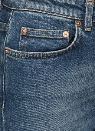 Detail View - Click To Enlarge - Acne Studios - 'Row' vintage wash boyfriend jeans