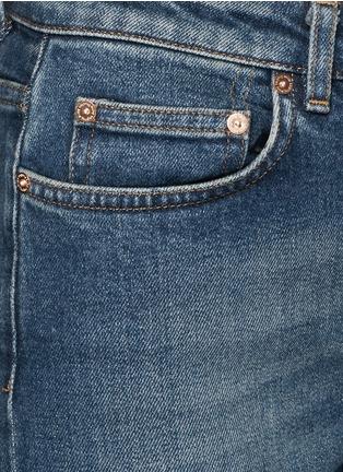 Detail View - Click To Enlarge - Acne Studios - 'Row' vintage wash boyfriend jeans