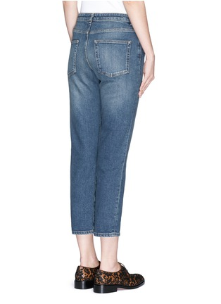 Back View - Click To Enlarge - Acne Studios - 'Row' vintage wash boyfriend jeans