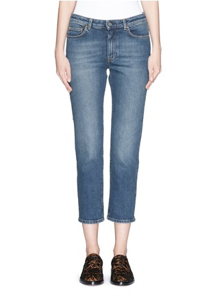 Main View - Click To Enlarge - Acne Studios - 'Row' vintage wash boyfriend jeans