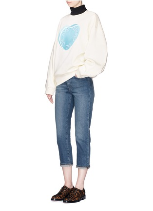 Figure View - Click To Enlarge - Acne Studios - 'Row' vintage wash boyfriend jeans