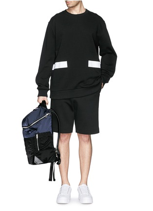 - Alexander Wang  - 'Wallie' padded bomber nylon backpack