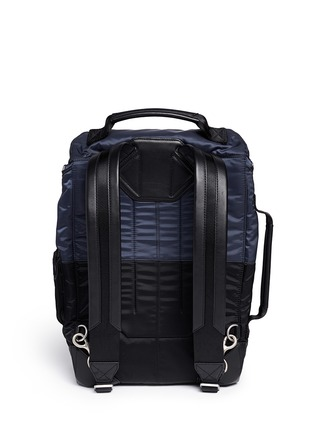 Back View - Click To Enlarge - Alexander Wang  - 'Wallie' padded bomber nylon backpack